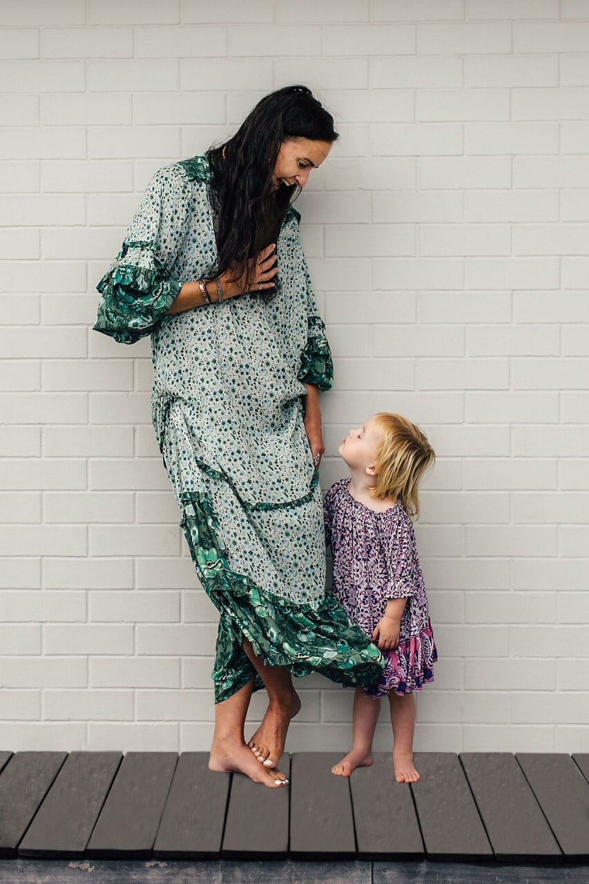 Picture of Jo Beer from Coco Florence with her daughter